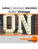 Corpóreas Aluminio estilo vintage