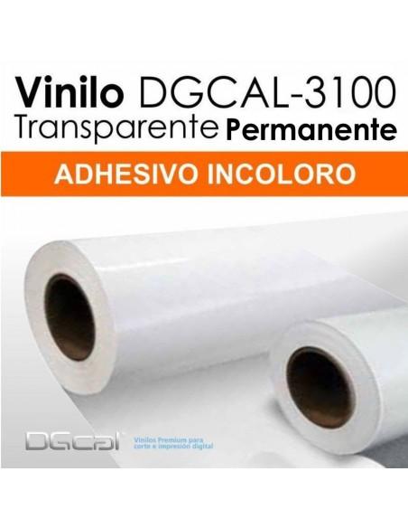 Bobina Vinilo Transparente DGCAL