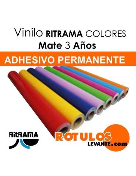 Bobina Vinilo de corte colores mate Ritrama