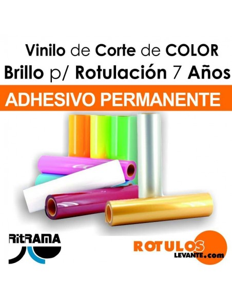 Vinilo bobina de color brillo Ritrama