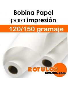 Bobina de papel para vallas y mupis