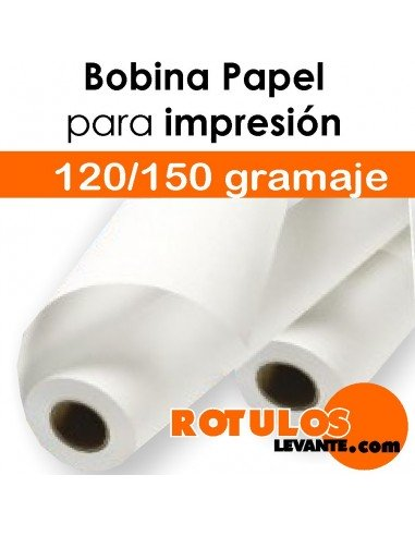 Bobina de papel para impresión digital