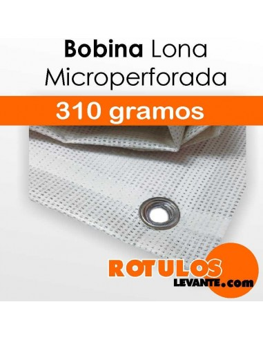 Bobina lona microperforada