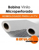 Bobina vinilo microperforada