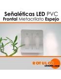 Señalética cuadrada LED