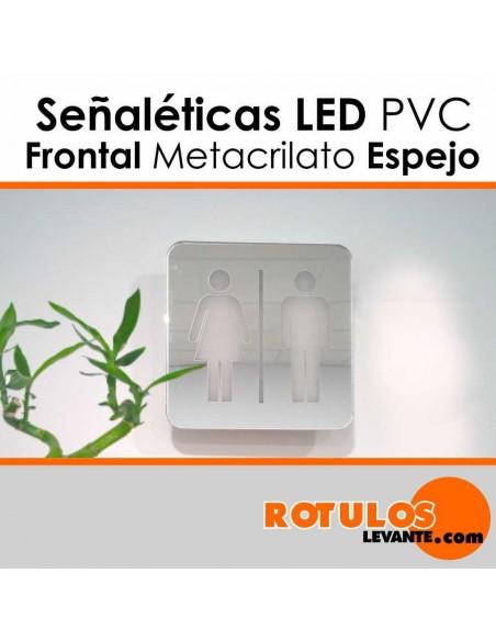 Señalética hotel iluminación LED