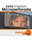 Lona microperforada