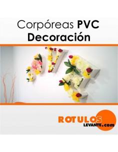 Corporeas PVC vegetal