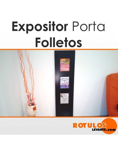 Expositor folletos