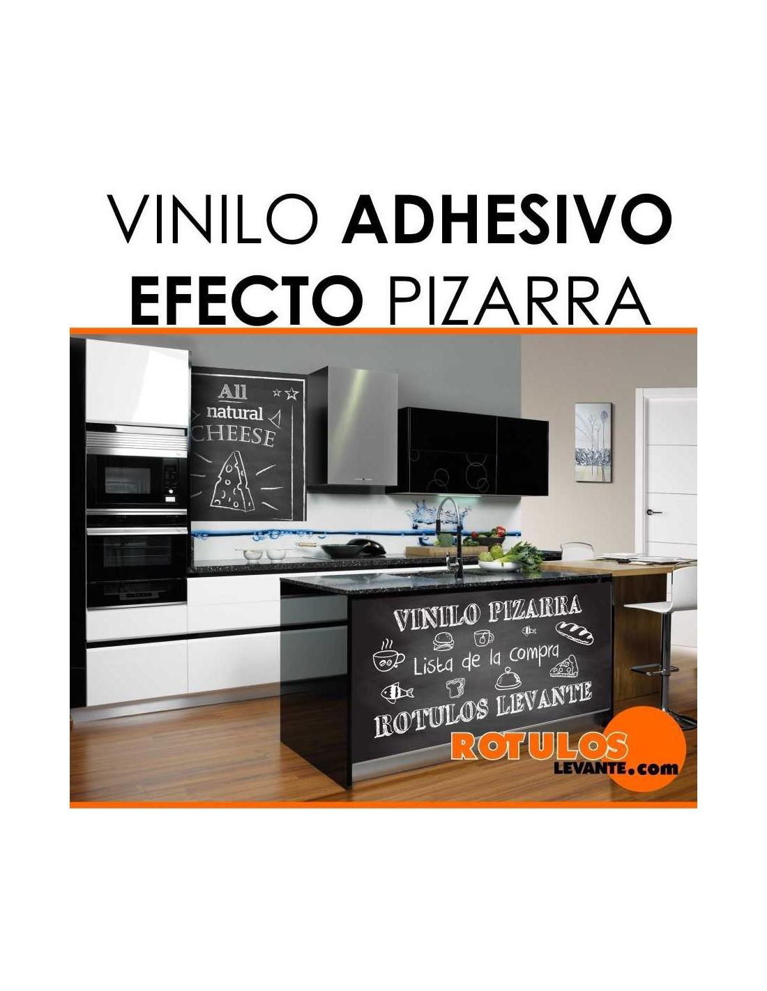 Vinilo Adhesivo Pizarra Negra