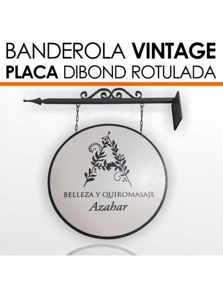 Banderola Vintage formas