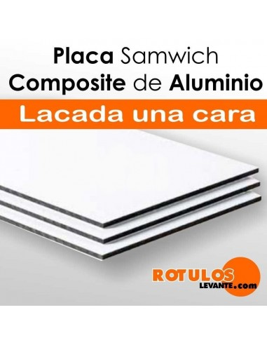 Placa composite aluminio gama económica