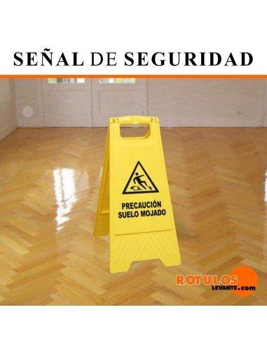 Señal de seguridad para el suelo