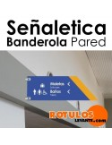 Señaletica Banderola 100x150