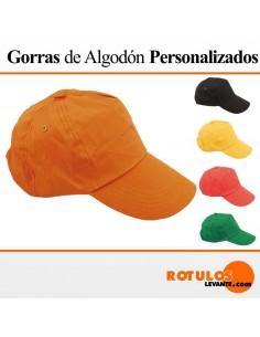 Gorra publicitaria personalizada