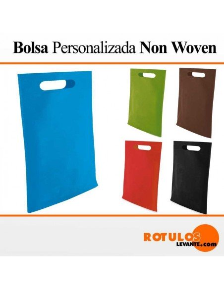 Bolsas personalizadas de compra now woven