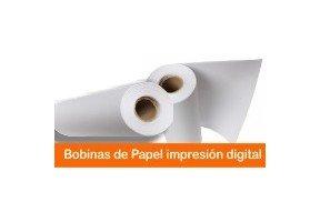 BOBINA DE PAPEL IMPRESIÓN DIGITAL
