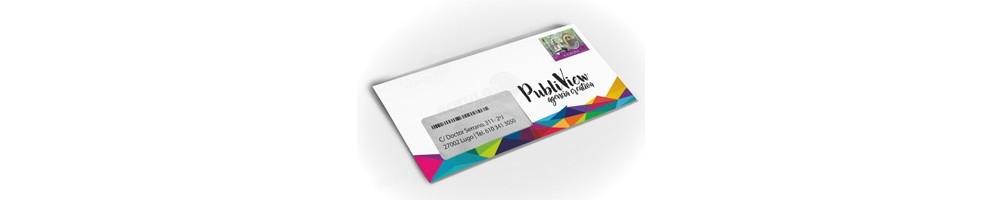 Sobres personalizados impresos
