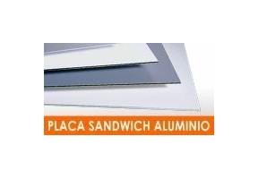 PLACA SÁNDWICH ALUMINIO