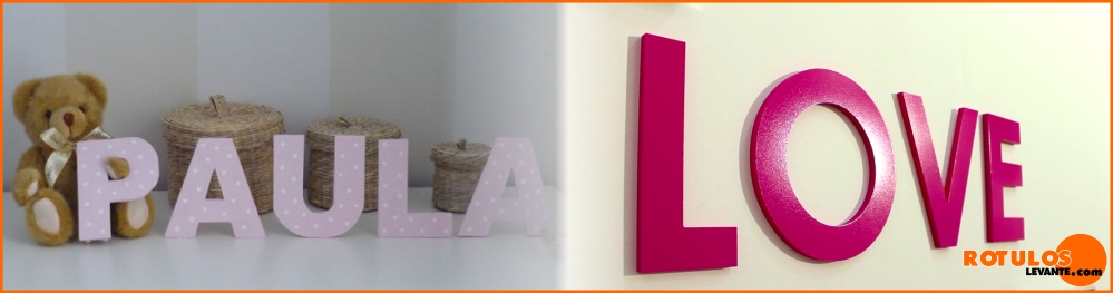 tipos de letras corpóreas PVC