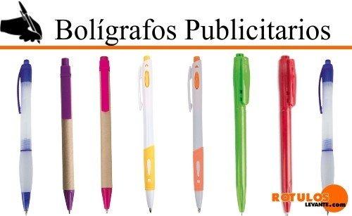 Bolígrafos publicitacios