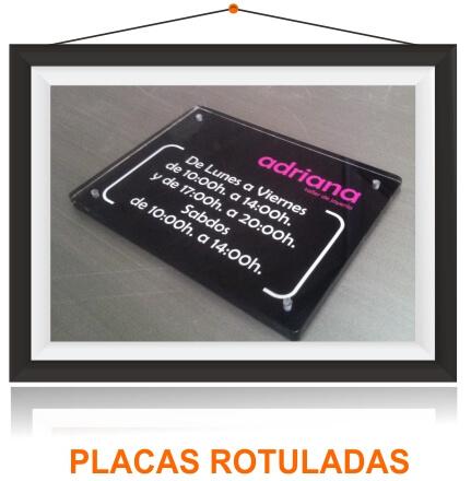 Placas Metacrilato
