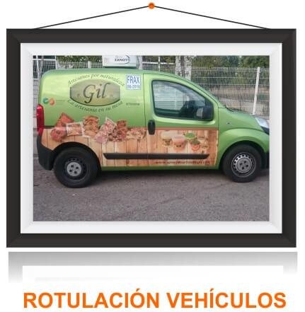 Rotulacion vehiculo