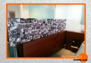 Impresión fotos en vinilos
