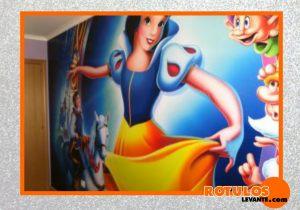 Foto mural habitación niña