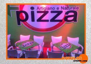 Vinilo decorativo pizzería