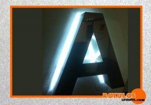 Acero iluminacion posterior