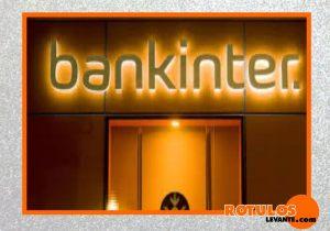 Letra Acero Banco