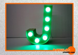 Inicial decorativo luminosa