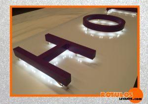 letras luminosas