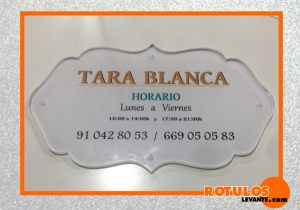 placa de metacrilato