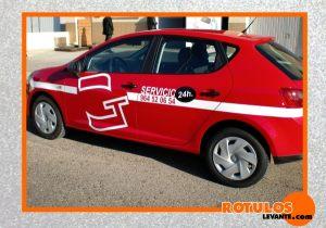 Rotulación coche de empresa