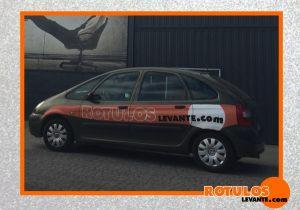 Rotulación coche de empresa Rótulos Levante