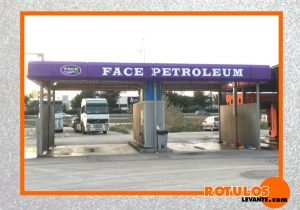 Rotulación gasolineras
