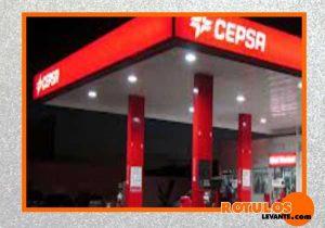 Rótulo gasolinera