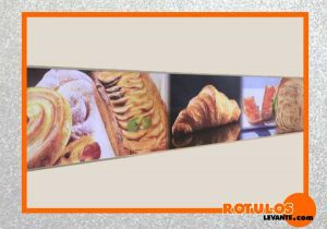 Rotulos panaderia