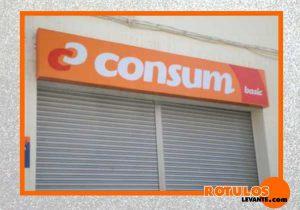 Rótulo supermercados consum