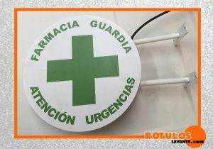 Banderola económica farmacia