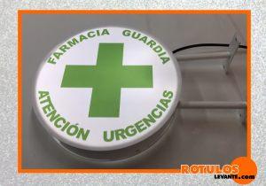 Banderola farmacia de guardia