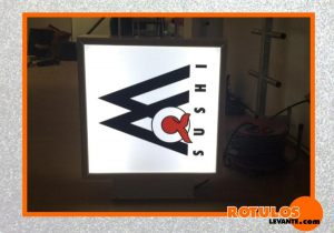 Banderola iluminación led