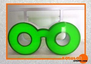 Banderola optica gafa