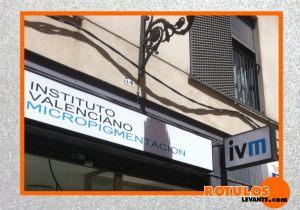 Rótulo instituto valenciano