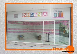 Rótulo tienda Ingenia