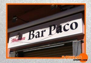 Rótulos bar